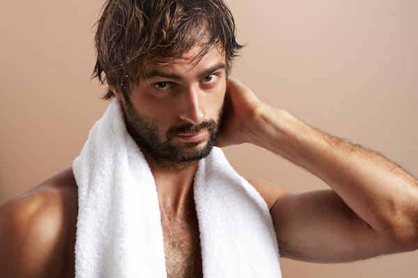 shampoo after man
